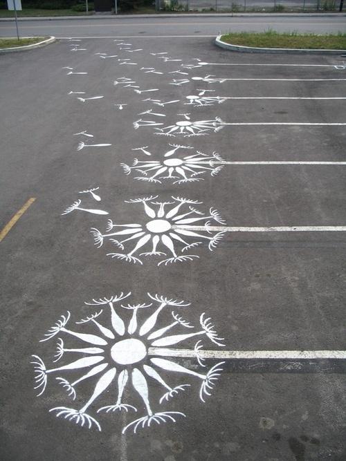 Floral Parking